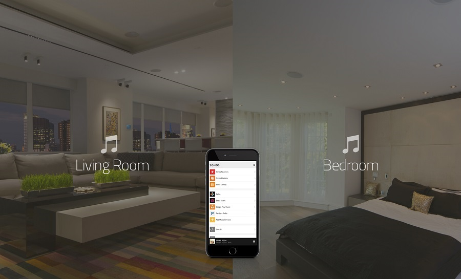 Listen to Music in Every Room with Automation